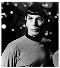 Star Trek's Mr. Spock